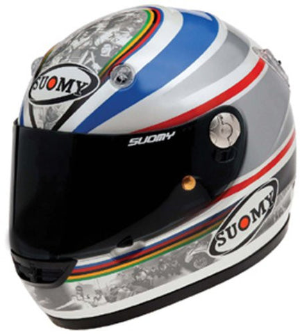Suomy Vandal Limited Edition Toseland Helmet (Gray/Red/White/Blue, Large)