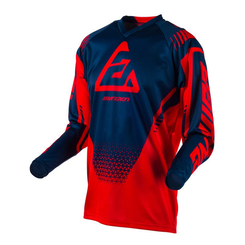 ANSWER RACING A19 SYNCRON DRIFT MX JERSEY RED/BLUE