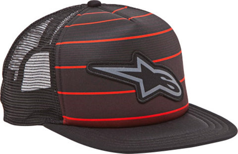 ALPINESTARS FRACTURED CUSTOM TRUCKER HAT BLACK