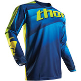THOR S7 PULSE VELOW JERSEY MX OFF-ROAD LOGO JERSEY