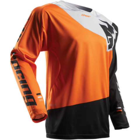 Thor S7 Fuse Pinin Jersey Orange/Black MX Off-Road Jersey