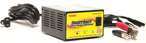Yuasa SmartShot Battery Charger-Maintainer 6/12