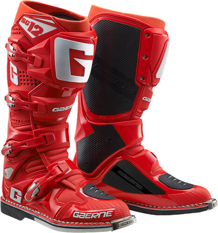 SG-12 Boots Red