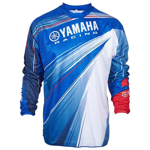 YAMAHA ONE INDUSTRIES ATOM JERSEY BLUE MX ENDURO