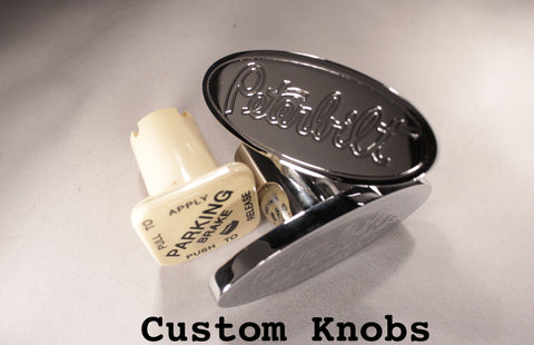 Logo Shape Knobs Peterbilt