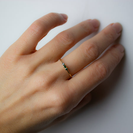 ELFIN 3 DIAMOND RING