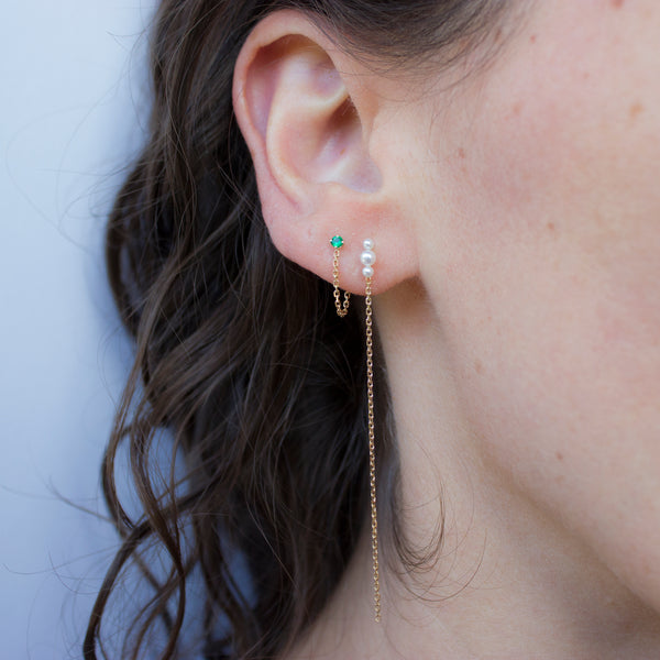 MERMAID LONG EARRINGS
