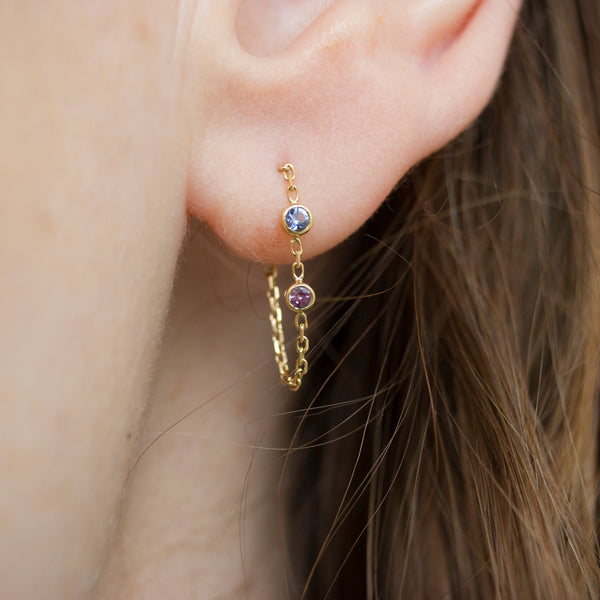 CANDY SAPPHIRE EARRINGS - Irena Chmura Jewellery