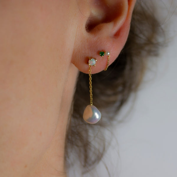 MERMAID OPAL EARRING - Irena Chmura Jewellery