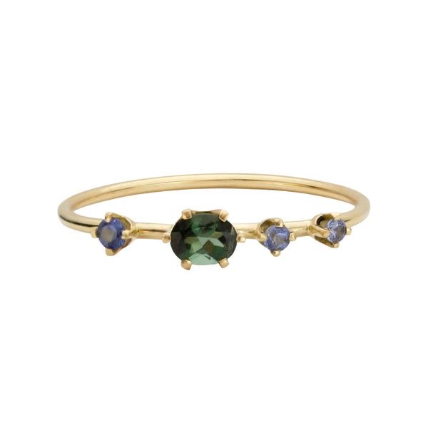 CASSIOPEIA RING, OVAL TOURMALINE