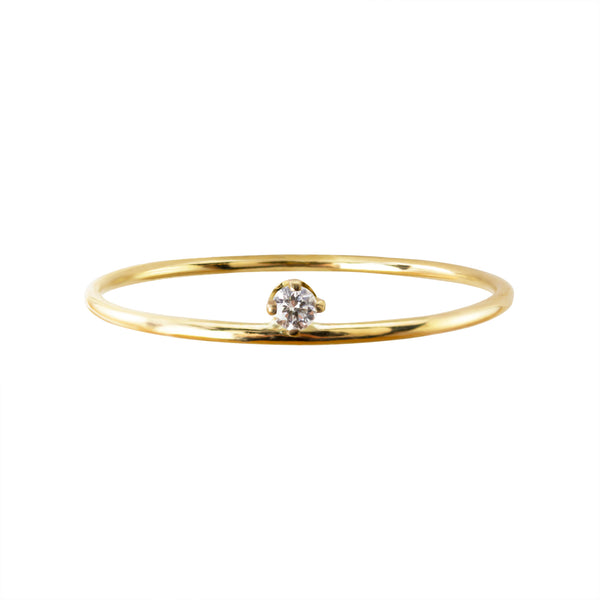 ICICLE DIAMOND DROP SOLITAIRE RING