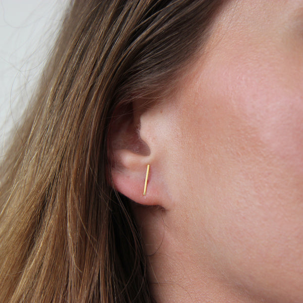 LINE STUD - MEDIUM - Irena Chmura Jewellery