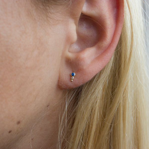 TEAR DROP STUD - Irena Chmura Jewellery