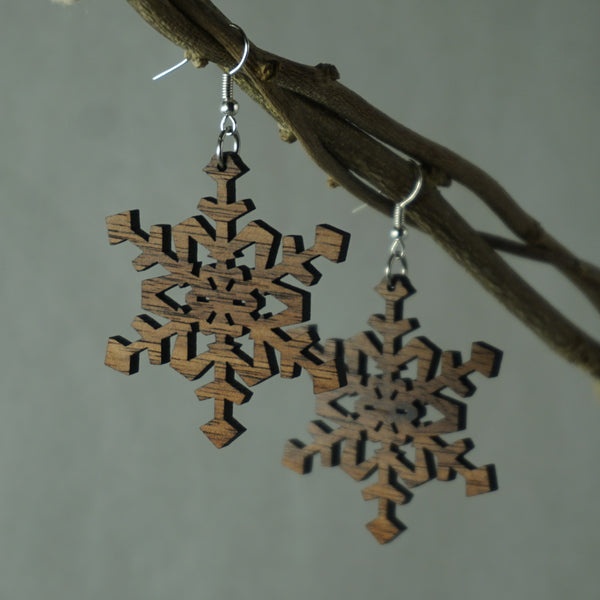 Classic Snowflake Earrings