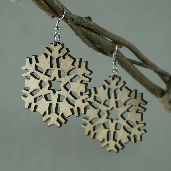 Flurry Snowflake Earrings