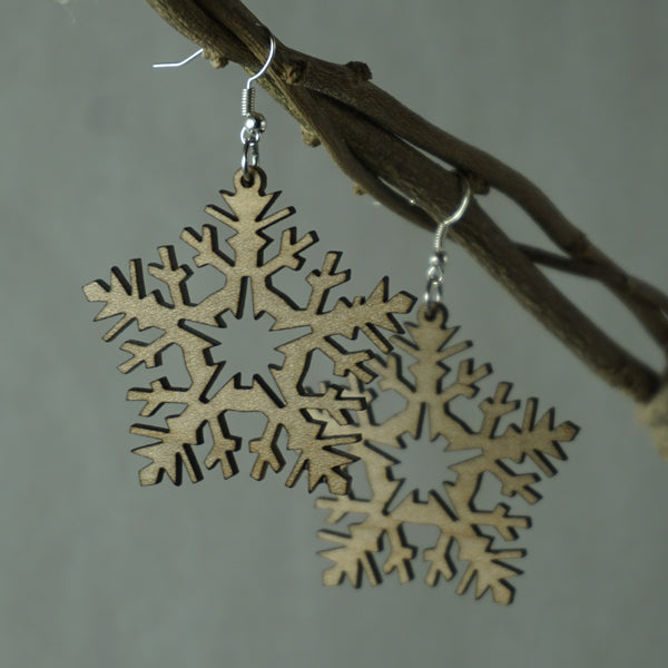 Frost Snowflake Earrings