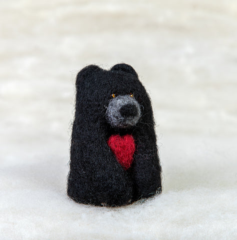 Bear - Black Bear with Heart