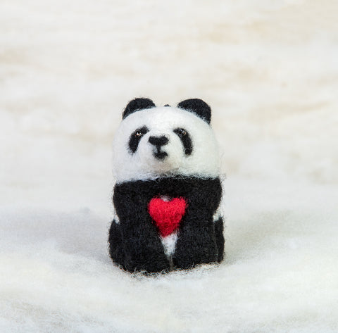 Bear - Panda Bear with Heart