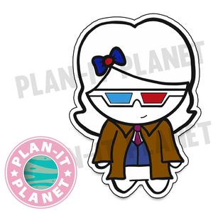 10th Doctor Luna Large Die Cut