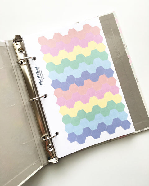 Emoji (Medium) Mini Binder Sheet