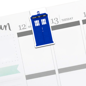 TARDIS : Doctor Who Bookmark