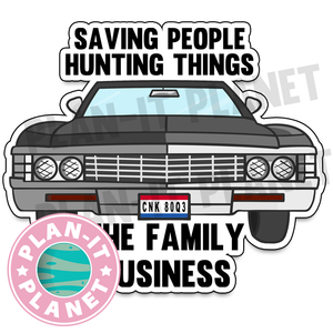 Baby Supernatural Large Die Cut