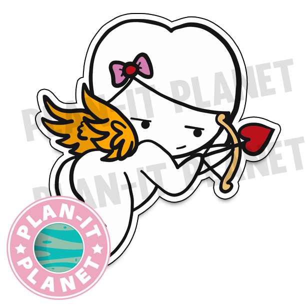 Cupid Luna Large Die Cut
