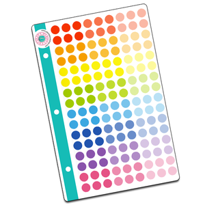 Dots Mini Binder Sheet