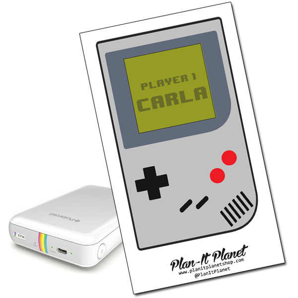 Game Boy Polaroid Zip Skin