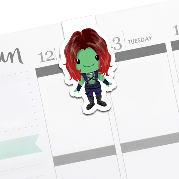 Gamora : Guardians of the Galaxy Bookmark