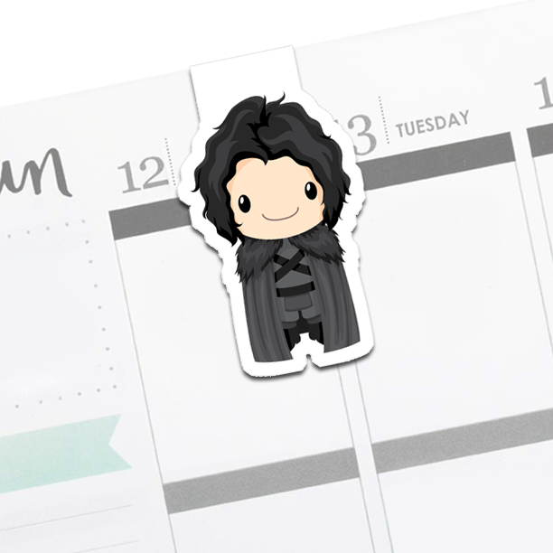Jon Snow : Game of Thrones Bookmark