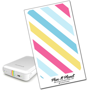 Bright Stripes Polaroid Zip Skin