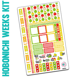 Apples Hobonichi Weeks Kit