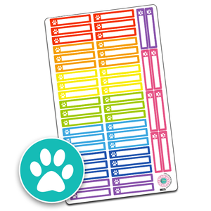 Pet Icon Slim Header Boxes