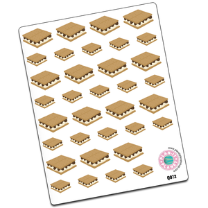 S'mores Stickers