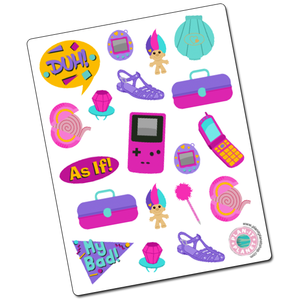 90s Deco Stickers