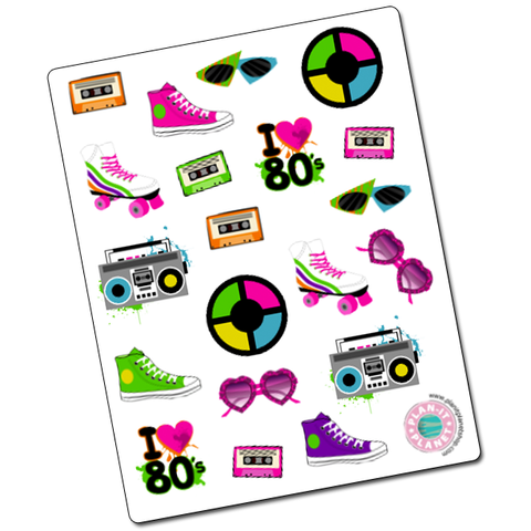 80s Deco Stickers