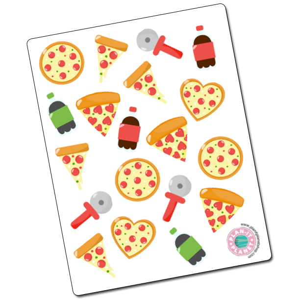 Pizza Stickers