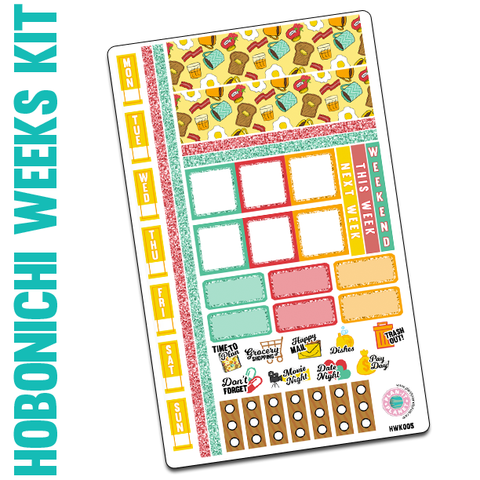 $2 Tuesday : Breakfast Hobonichi Weeks Kit