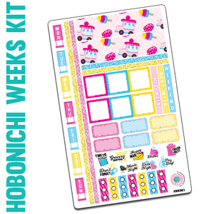 $2 Tuesday : Ice Cream Truck Hobonichi Weeks Kit