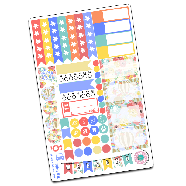 Blooms & Balloons Mini Kit