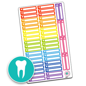 Dentist Icon Slim Header Boxes