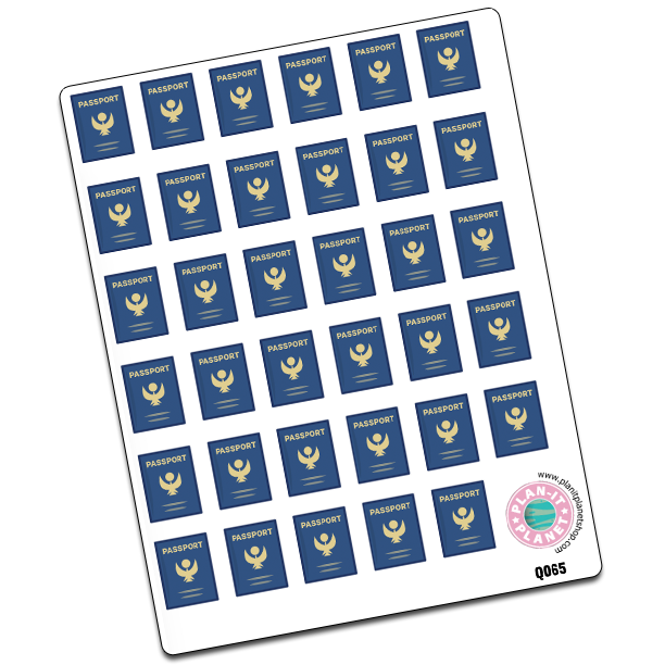 Passport Stickers