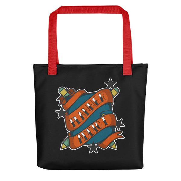 Planner Addict Tattoo Tote bag