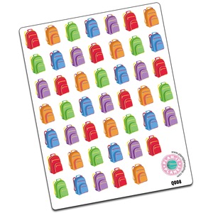 Backpack (Plain) Stickers