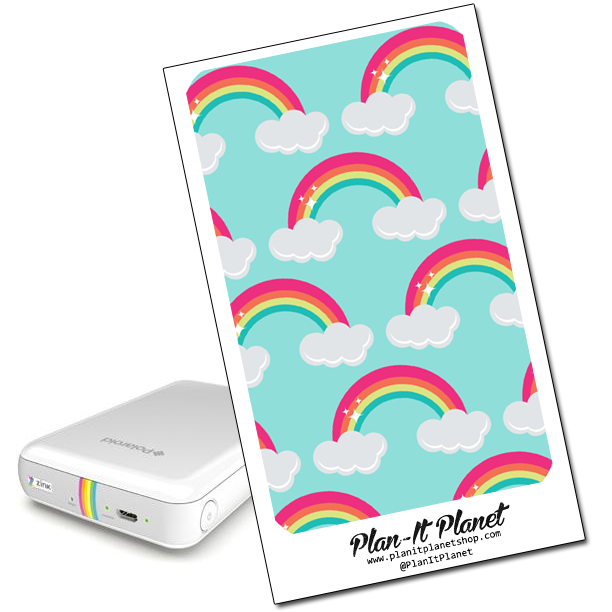 Rainbow Polaroid Zip Skin