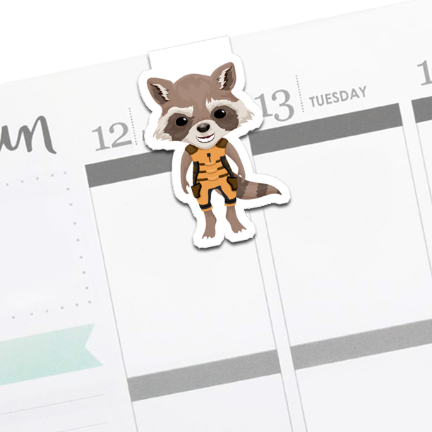 Rocket Raccoon : Guardians of the Galaxy Bookmark