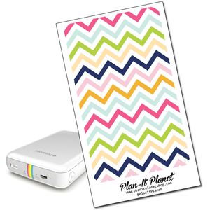 Bright Chevron Polaroid Zip Skin