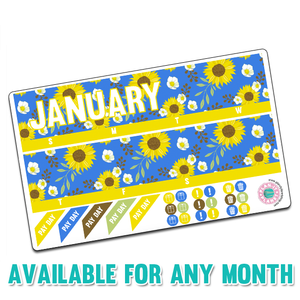 Sunflower Monthly Kit