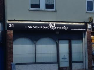 The Last Big Push .... Opening of London Road Beauty Salon